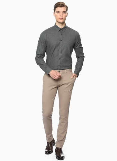 George Hogg Slim Fit Pantolon Vizon